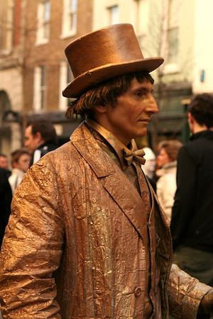 Living statue, Covent Garden